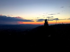 Tonight's sunset 💃 (marta.monnetti) Tags: live cielo toscana tuscany settignano fiesole apple iphone6s iphone afternoon evening night cloudy clouds sky orange violet tag photooftheday picture like sun laugh love life countryside country firenze florence italia italy sunset