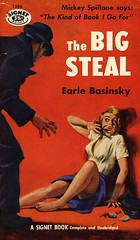Signet Books 1286 - Earle Basinsky - The Big Steal (swallace99) Tags: signetbooks vintage 50s murder mystery thriller paperback