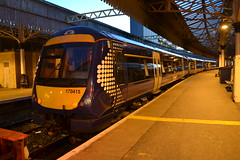 Scotrail Turbostar 170415 (Will Swain) Tags: aberdeen station 25th november 2017 train trains rail railway railways transport travel uk britain vehicle vehicles country scotland scottish north east city centre scotrail turbostar 170415 class 170 415