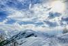 Vista dal Monte Pigna - Lurisia - Cuneo - Italia (claudio g) Tags: snow hdr frozen montepigna lurisia cuneo piemonte italia valellero powder sky sci skyalp