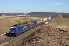 Rhenus 186.269 @ Berneau (Peter Van Gestel) Tags: rhenus xrail crossrail gts lijn ligne 24 berneau