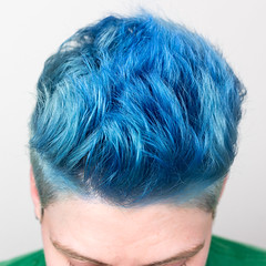 01.10.18 (sciencensorcery) Tags: selfportrait bluehair dyedhair