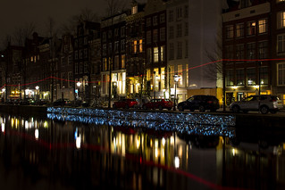 Piece of Art at the Amsterdam Festival of Light 2017