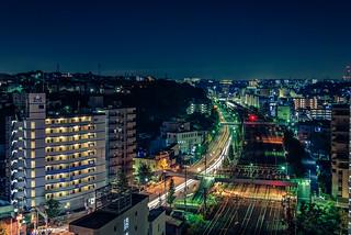 Night over the Tokaido