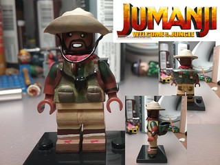Custom Lego Minifigure: Fridge-Jumanji