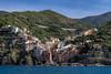 Tuscany - Cinque Terre - Riomaggiore - Seen From The Sea (JimP (in Sarnia)) Tags: italy tuscany cinque terre riomaggiore