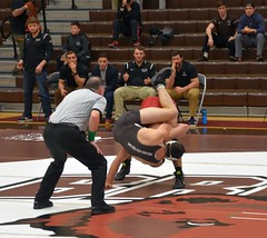 BRO-STA 184 2018-01-13 DSC_7903 (bix02138) Tags: brownuniversity brownbears stanforduniversity stanfordcardinal pizzitolasportscenter pizzitolasportscenterbrownuniversity providenceri january13 2018 wrestling sports intercollegiateathletics athletes jocks ©2018lewisbrianday 184 184pounds judahduhm ninobastianelli