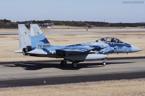 Japan Air Self Defence Force, McDonnell Douglas F-15DJ Eagle, 72-8090.