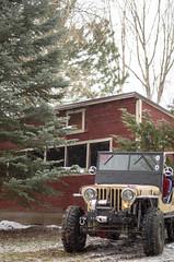 Jeep & Snow -15 (sammycj2a) Tags: willys jeep snow nikon rockcrawler winch factor55 ogden utah