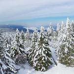 Orlicke hory (Eagle Mountains) in Winter, Czech Republic thumbnail