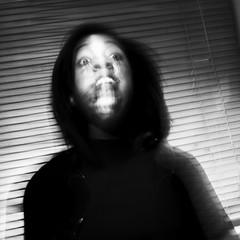 (Darryl Scot-Walker) Tags: portraits portraiture futurism motion blur woman londonphotographers blackandwhite bw monochrome
