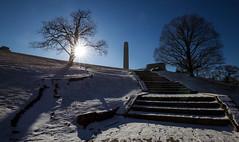Frosty Mornings (KC Mike Day) Tags: monument worldwari libertymemorial memorial liberty war world snow sunrise