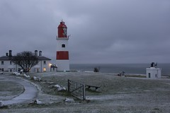 Souter Lighthouse snow scene (Mark240590) Tags: winter landscape prime 35mm nikon snow lighthouse