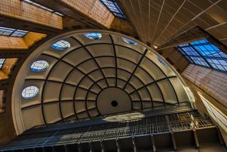 elevators under the dome