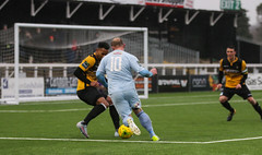 Cray Wanderers 1 Lewes 2 20 01 2018-92.jpg (jamesboyes) Tags: lewes cray bromley football bostik isthmian fa soccer action goal game celebrate celebration sport athlete footballer canon dslr