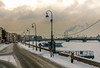 Cold in Russia (Tony_Brasier) Tags: saintpetersburg icecold nikond7200 sigma snow snowing cold cars russia river raw town rocks red lovely location flickr fun loving lights 1750mm outdoors