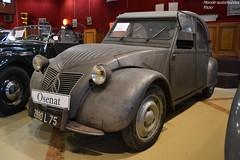 Citroën 2cv Type A Federspield 1950 (Monde-Auto Passion Photos) Tags: voiture vehicule auto automobile citroën 2cv deuche gris ancienne classique rare rareté vente enchère osenat france fontainebleau ferderspield