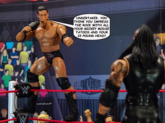 The Rock Says 1 (metaldriver89) Tags: therock rock dwayne johnson undertaker taker theundertaker phenom lordofdarkness ministryofdarkness ministry wwe wwf extremesets action figure figures actionfigure actionfigures acba articulatedcomicbookart articulated comic book art toys toy toyphotography 316 wrestler jr jimross wrestlemania stormcollectibles storm collectibles wweelite mattel matteltoys people