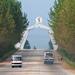 Arch of reunification monument, Pyongan Province, Pyongyang, North Korea