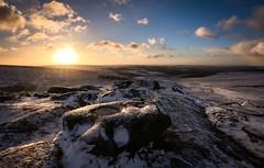 Frozen sunrise (Phil-Gregory) Tags: naturalphotograph naturephotography natural national nikon d7200 countryside color colour peakdistrict derbyshire uk england light rock ice frozen snow sunrise beauty visage vista view