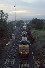 UP MRVNP-13 (caltrain927) Tags: union pacific railroad mixed freight manifest train ge es44ac ac gevo ac45ccte c45accte ac4400cw c44ac newcastle california ca
