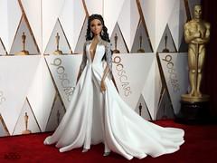 90th Oscars (davidbocci.es/refugiorosa) Tags: barbie mattel fashion doll muñeca refugio rosa david bocci ooak oscars 90 awards 2018 red carpet