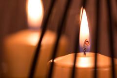 Je suis ton reflet... (Gisou68Fr) Tags: macromondays flame bougie bougies candie candles reflet miroir réfections mirror canoneos650d ef100mmf28lmacroisusm