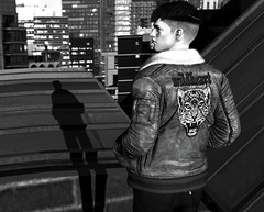 Wildheart. (MATTY // *OMG*) Tags: sl photo photography blog mens menonlymonthly mom blogger lotd look outfit cool dope blackandwhite avatar 3d world fashion event second life