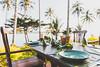 The restaurant at Away Koh Kood Resort in Thailand (nounpusherphoto) Tags: thailand resort beach travel kohkood kohkoot island hotel away canon canon5d4 canon5dmarkiv 5dmarkiv 5d4 vacation getaway holiday kohkut