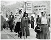 Pickets seek funds & rights for welfare families: 1965 (washington_area_spark) Tags: man house rule welfare rights reform unemployed jobless mothers children families aid mary etheredge walter fauntroy senator robert byrd protest demonstration picket rally line signs coalition conscience washington dc district columbia 1965