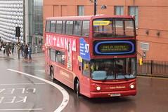 NXWM 4466 @ Moor Street Queensway, Birmingham (ianjpoole) Tags: national express west midlands transbus trident 2 alexander alx400 bj03evv 4466 passing moor street queensway service