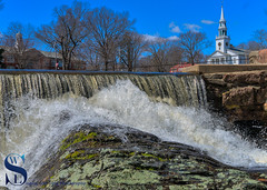 st Church over the falls (Singing With Light) Tags: 2016 2017 9th alpha6500 ct duckpondapril gulfbeach milford mirrorless singingwithlight a6500 photography singingwithlightphotography spring