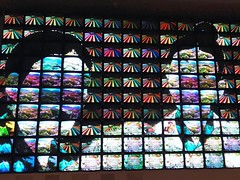 """Megatron / Matrix"" ―Nam June Paik, 1995 🎨 🎥 (anokarina) Tags: video animation giphy gif eightchannelmedia installation sound color audio televisions tvs smithsoniannationalportraitgallery smithsonianinstitution smithsonianamericanartmuseum chinatown pennquarter art dcist"