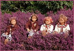 Kindergartenkinder ... (Kindergartenkinder) Tags: kindergartenkinder annette himstedt dolls sanrike tivi gruga grugapark essen blume annemoni milina