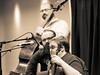 Tyler Griffith, Josh Richards, Mike Cleveland (joeldinda) Tags: coopersglen michigan kalamazoo 2018 bw monochrome radissonhotel michaelclevelandflamekeeper 4014 february band festival workshop bluegrass blackandwhite omdem1mkii olympus em1 em1ii omd
