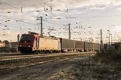 482 045-2 SBB Cargo Würzburg 02.02.18 (Paul David Smith (Widnes Road)) Tags: 4820452 sbb cargo würzburg 020218 sbbcargo sbbcffffs traxx