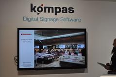 kompas im Einsatz: ISE 2018 (dimedis GmbH) Tags: ise amsterdam digital signage digitale wegeleitung pos marketing