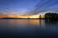 Daybreak at Lake Lanier (aaronmorganphotography) Tags: sunrise lake lakelanier outdoorphotography outdoors landscape landscapephotography aaronmorganphotography georgia ga atlanta dawn mood