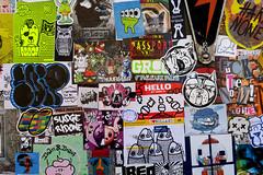 stickercombo (wojofoto) Tags: amsterdam nederland netherland holland ndsm streetart stickers stickerart stickercombo sticker wojofoto wolfgangjosten wojo