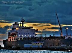 367. PORTSIDE 3: A Closer Look (Meili-PP Hua 2) Tags: boat nikon sky sunset water ocean sea port pier jetty wharf city transport cargo photographypassionsxyz