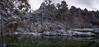 Nacimiento del río Cuervo. (Amparo Hervella) Tags: nacimientodelríocuervo cuenca españa spain nieve reflejo naturaleza nube panorámica largaexposición d7000 nikon nikond7000 comunidadespañola