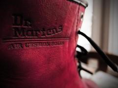 DM's (downhamdave) Tags: dms doctor martens boots purple girls ladies womens skinhead close up macro fuji fujifilm x30 elements13 raw footwear classic