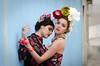 Joana Franco & Beatriz Vaz (Hugo Miguel Peralta) Tags: nikon d7000 retrato portrait lisboa lisbon fashion mode frida khalo colors 80200 28