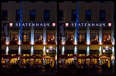 Tavern »Spatenhaus«, München 3-D / CrossView / Stereoscopy / HDR / Raw (Stereotron) Tags: bavaria bayern munich münchen spatenhaus night streetphotography urban citylife europe germany deutschland crosseye crosseyed crossview xview cross eye pair freeview sidebyside sbs kreuzblick 3d 3dphoto 3dstereo 3rddimension spatial stereo stereo3d stereophoto stereophotography stereoscopic stereoscopy stereotron threedimensional stereoview stereophotomaker stereophotograph 3dpicture 3dglasses 3dimage twin canon eos 550d yongnuo radio transmitter remote control synchron kitlens 1855mm tonemapping hdr hdri raw availablelight