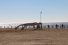 Look out at Seapoint. Cape Town. ZA. (Håkan Svanqvist) Tags: glasses sunglasses sky beach cape town sea point seapoint africa south biggest