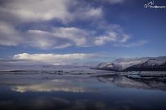 Mirror (Gavmonster) Tags: gswphotogrpahy nikon d7500 nikond7500 ice lagoon glacier blue water mountain iceberg iceland jã¶kulsã¡rlã³n winter snow naturalwonder vatnajã¶kull reflections sky clouds jökulsárlón vatnajökull