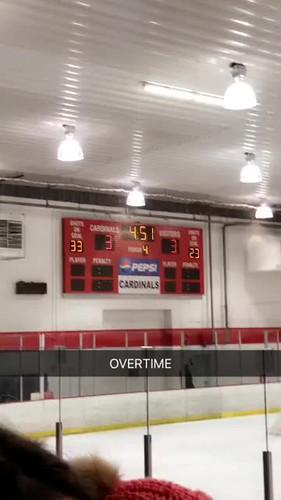 Video - MHockey overtime