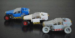 G108 (Blue, White and Gray versions) (taxonlazar) Tags: rover space febrovery febrovery2018 classic classicspace