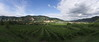 vineyards of wachau (koaxial) Tags: p7156970a3p7156972aa1 wachau koaxial krems dürnstein wein pano hugin clouds wolken view light landscape nature donau danube