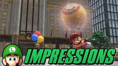 Super Mario Odyssey - Luigi's Balloon World IMPRESSIONS! (Luigi Fan) Tags: super mario odyssey dlc luigis balloon world nintendo switch